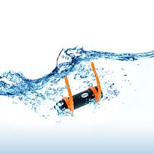 4gb waterproof water mp3 music player fm radio earphone for