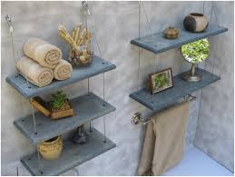 bathroom floating shelves for bathroom towels beauteous image of