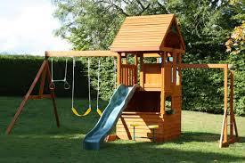 penshurst climbing frame with slide and monkey bars