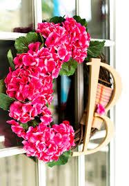 geranium monogram wreath my secret boards it all