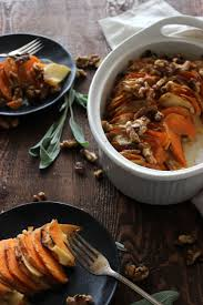pre made thanksgiving dinners sweet potato and apple gratin the bay leaf kitchen
