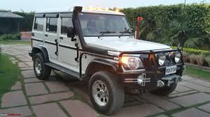 indian army jeep modified our modified mahindra bolero 4x4 team bhp