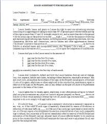 billboard lease contract template free sample templates