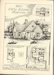 Tiny English Cottage House Plans 215 Best Pre War Houses Images On Pinterest Vintage Houses