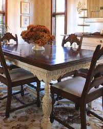 Love The Light And Dark Contrast Thought Of Refinishing Our - Refinish dining room table