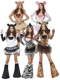 halloween costumes for 4 people ladies fever animal fancy dress costumes womens hen party