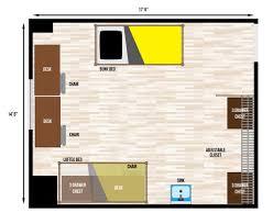dorm room floor plan catlett hall housing