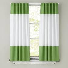 Whote Curtains Inspiration Marvelous White And Green Curtains Inspiration With White