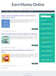 Make Money Online Blogs - make money online