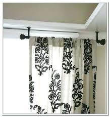 Hang Curtains From Ceiling Designs Hanging Curtain Rods Hanging Curtain Rods Uneven Ceiling O Curtain