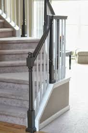 chalk paint bannister the house of figs u2026 pinteres u2026