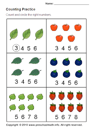 math counting worksheet counting leaves 1ºano mat contagem imagens diferentes