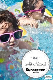 best all natural sunscreen for kids registered mommy nurse