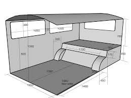 Toyota Hiace Van Interior Dimensions This Might Come In Handy For Any Of You T2ers With A Refurb Coming