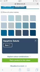 sapphire blue navy blue dulux paint bedroom pinterest