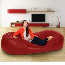 Brown Leather Bean Bag Chair Leather Bean Bag Set U2014 Home Ideas Collection Ideas Of A Leather