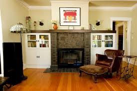 fireplace surround with alder mantel cap