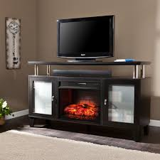 26 in contemporary infrared quartz electric fireplace insert with