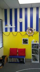 Nautical Theme Decor Nautical Themed Book Corner My Classroom Walls Book Corners