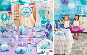 mermaid party supplies mermaids the sea party supplies birthdayexpress