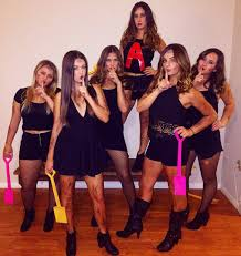 beautiful halloween costumes for girls tsm pretty little liars costume and mixer ideas pinterest