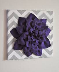 Purple Nursery Wall Decor Purple Wall Affordable Bedroom Canvas Purple Abstract