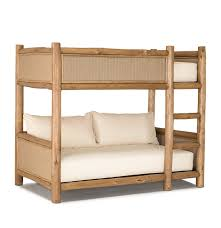 Custom Designed Rustic Beds Exceptional Quality La Lune - Upholstered bunk bed
