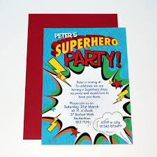 birthday invites marvellous superhero birthday invitations ideas