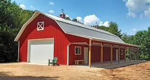 Custom Pole Barn Homes Quality Post Frame Buildings Northland Buildings Inc