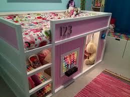 ikea bunk bed hacks ikea hack loft bed with a custom made play house lovies room ikea