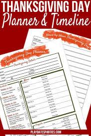 printable thanksgiving dinner checklist and recipes your all in one printable thanksgiving dinner planner