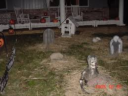 cemetery fence halloween prop halloween projects for 2005