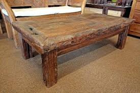 Rustic Teak Coffee Table Rustic Table Rustic Dining Room Side Chairs With Wooden Table And