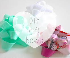 bows for gifts to make a gift bow