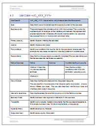 business requirements template business requirements specification