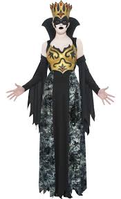 Evil Princess Halloween Costume Evil Queen Halloween Costume Women U0027s Black Gold Queen Costume