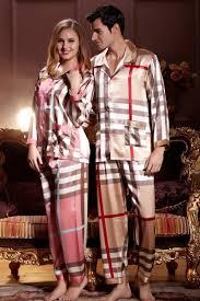 his hers matching couples silk pajamas sets yoyoon 9963