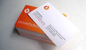 Best Business Card Company 30 Lovely Orange Business Cards Slodive