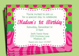 birthday party invite wording for you thewhipper com