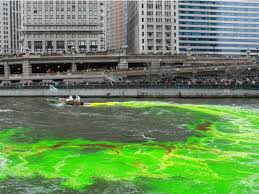 chicago river to get dyed green even if there are ice chunks