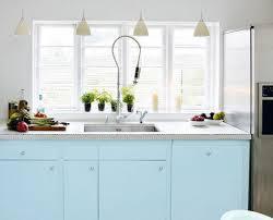 cuisine bleu pastel en mood une cuisine tendance donc pastel paperblog