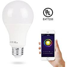 3stone smart a21 rgbw warm white color led bulbs wifi app