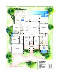 perfect house plans florida 3 bedroom mediterranean modern home 4
