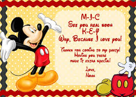 Blank Invitation Cards Templates Mickey Mouse Printable Birthday Invitations U2013 Gangcraft Net