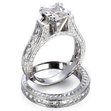 wedding set rings platinum wedding ring sets wedding corners