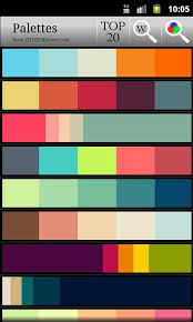 color themes for android color palette version apk android productivity apps
