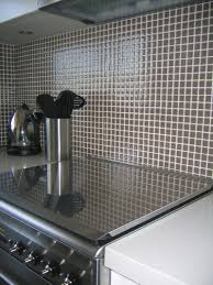 Mosaic Kitchen Backsplash by Clear Glass Mosaic Tile Backsplash Roselawnlutheran