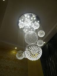Sphere Ceiling Light Chandelier Drop With 11 Sphere Ceiling Light