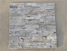 Stacked Stone Veneer Backsplash by Wooden Vein Wall Stone Cladding Prices Cultured Stone Stacked