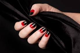 nail art 46 shocking vampire nail art images design vampire nail